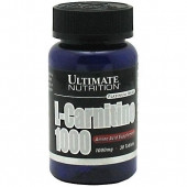 Карнитин Ultimate Nutrition L-carnitine 1000 30 таб.