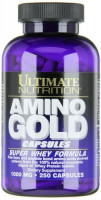 Аминокислоты Ultimate nutrition Amino Gold 1000 250 caps.