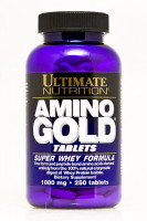 Аминокислоты Ultimate nutrition Amino Gold 1000 250 таб.