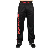 "Штаны для бодибилдинга Gorilla Wear ""Mercury"" Pants, чёрно - красные"