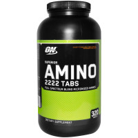 Аминокислоты Optimum nutrition Superior Amino 2222 New 320 таб.